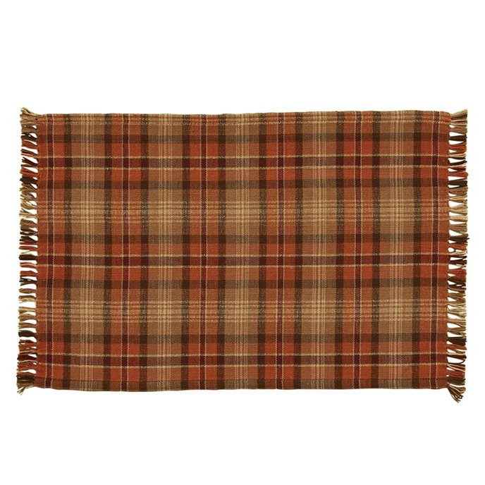 Gather Together Plaid Woven Placemat Thumbnail