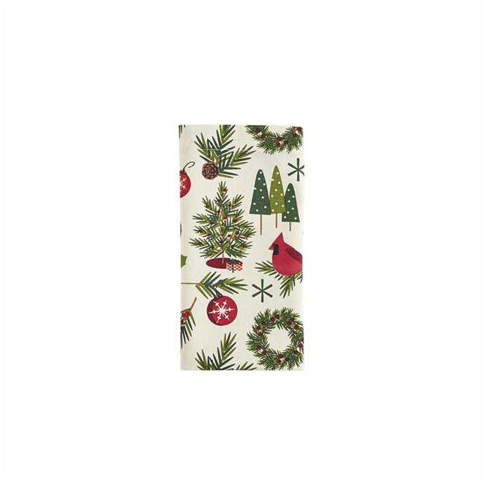 Christmas Greenery Napkin Thumbnail