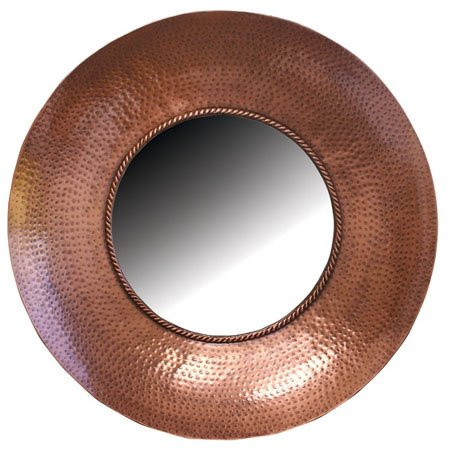 Hammered Metal Mirror by Split-P Thumbnail