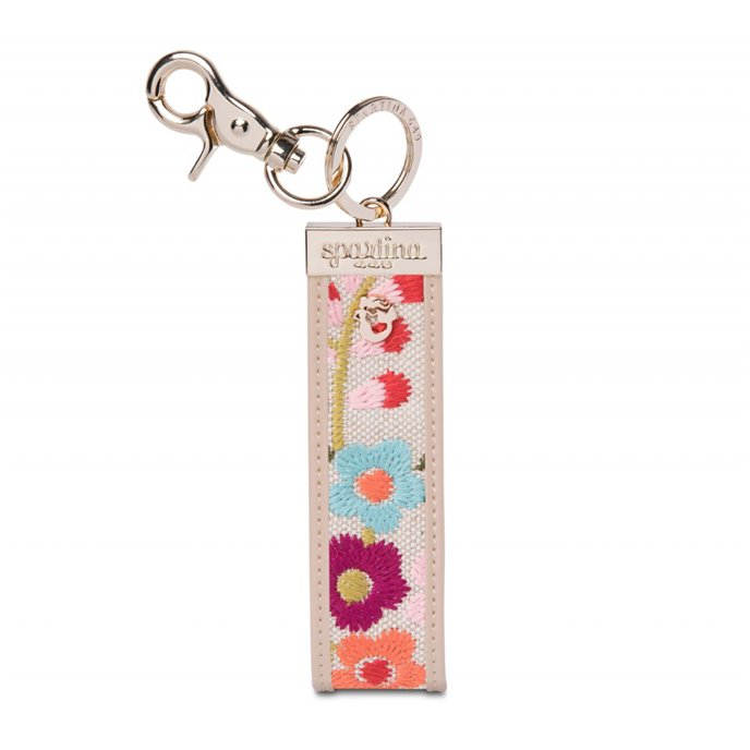 Spartina 449 Cordelia Blossom Embroidered Grab-n-Go Keychain Thumbnail