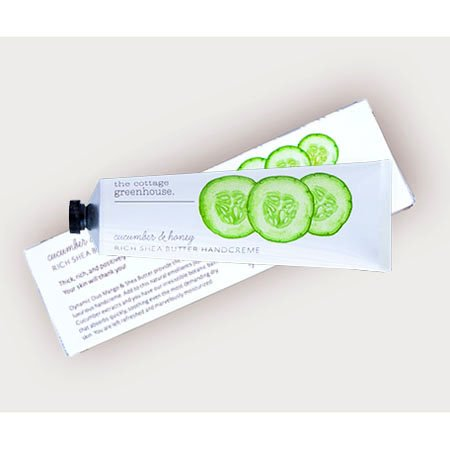 The Cottage Greenhouse Cucumber & Honey Rich Shea Butter Handcreme Thumbnail