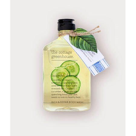 The Cottage Greenhouse Cucumber & Honey Rich & Repair Body Wash Thumbnail