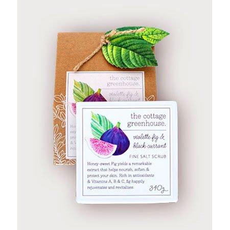 The Cottage Greenhouse Violette Fig & Black Currant Fine Salt Scrub Thumbnail