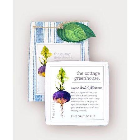 The Cottage Greenhouse Sugar Beet & Blossom Fine Salt Scrub Thumbnail