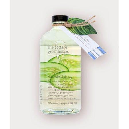 The Cottage Greenhouse Cucumber & Honey Foaming Bubble Bath Thumbnail