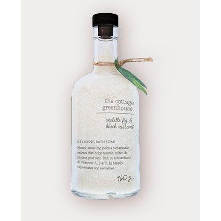 The Cottage Greenhouse Violette Fig & Black Currant Relaxing Bath Soak Thumbnail
