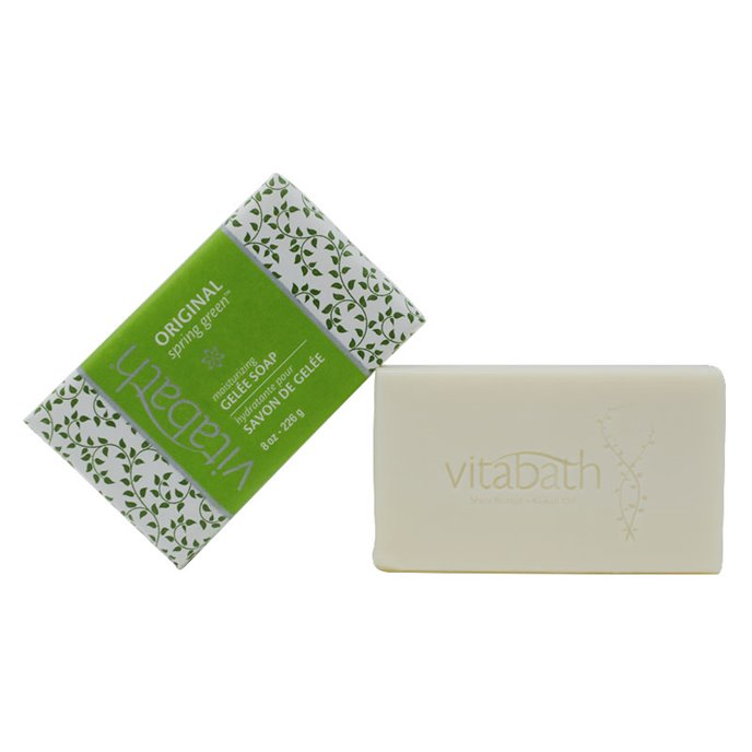 Vitabath Original Spring Green Moisturizing Gelee Bar Soap (8 oz) Thumbnail