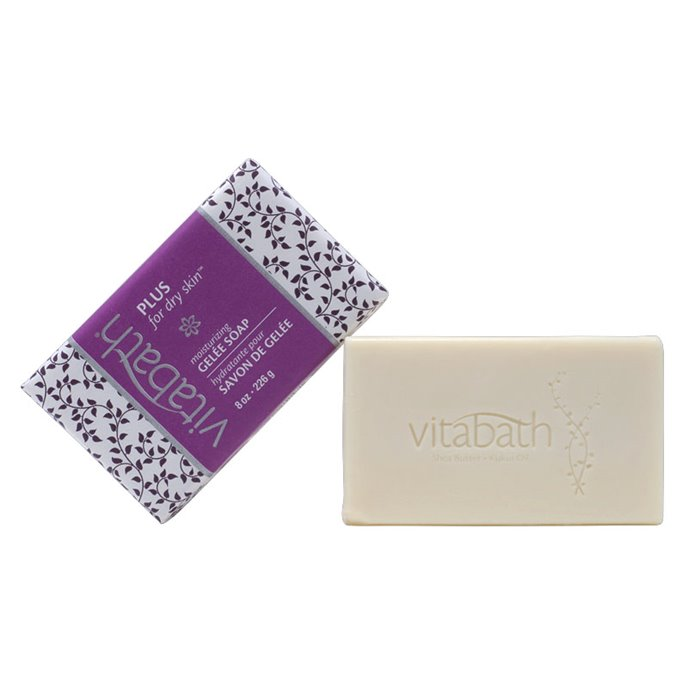 Vitabath Plus for Dry Skin Moisturizing Gelee Bar Soap (8 oz) Thumbnail