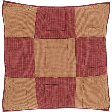 Ninepatch Star Quilted Euro Sham Thumbnail