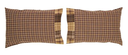 Prescott Block Border Pillow Cases Thumbnail