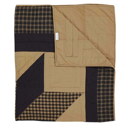 Dakota Star Quilted Throw Thumbnail