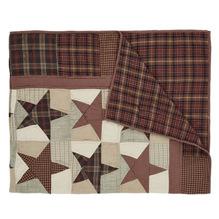 Abilene Star Quilted Throw Thumbnail