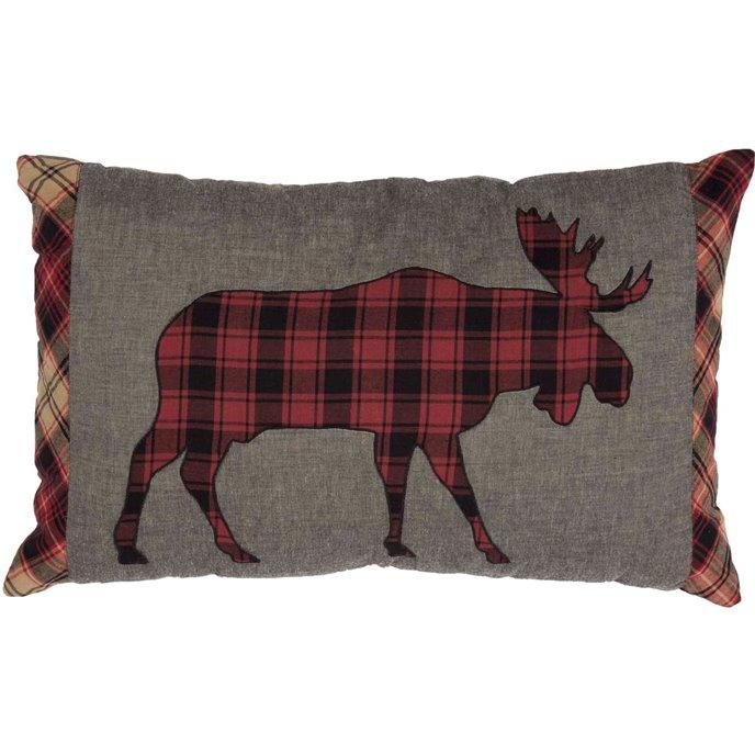 Cumberland Moose Applique Pillow Thumbnail