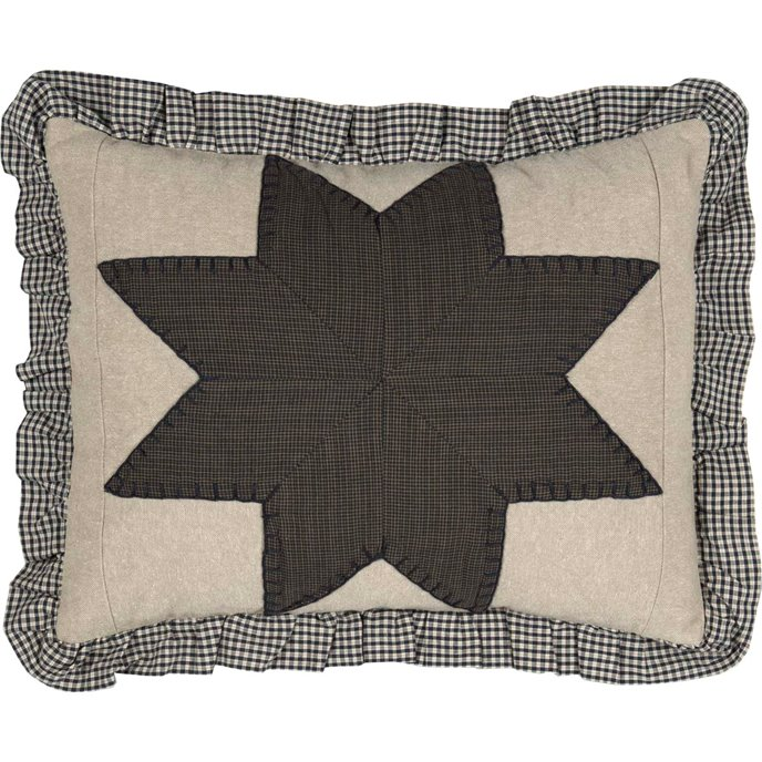 Liberty Stars Patchwork Pillow 14 x 18 Thumbnail