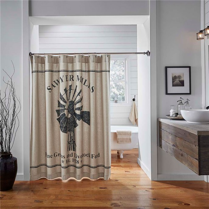 Sawyer Mill Shower Curtain Thumbnail