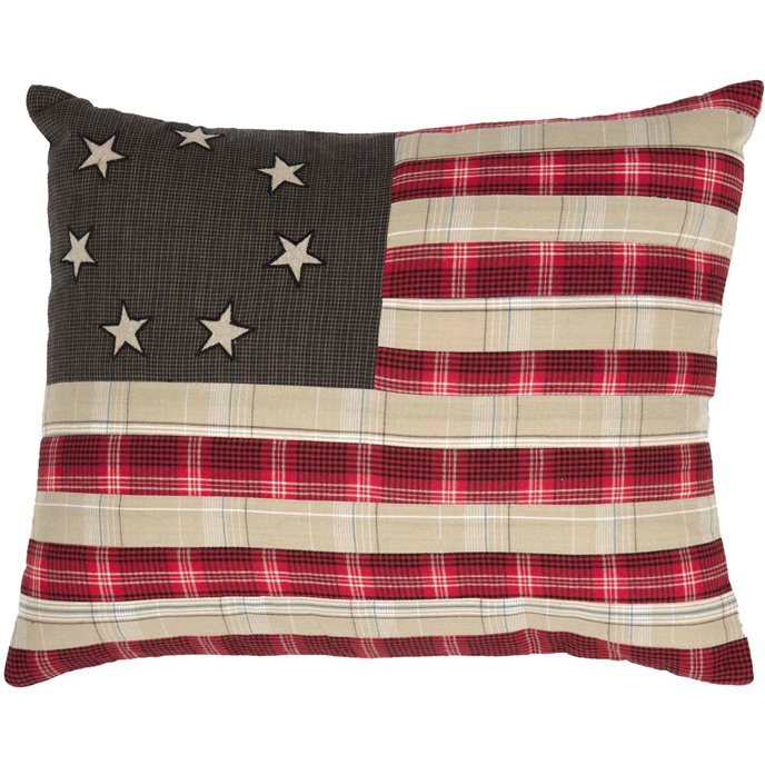 Liberty Stars Flag Pillow Thumbnail