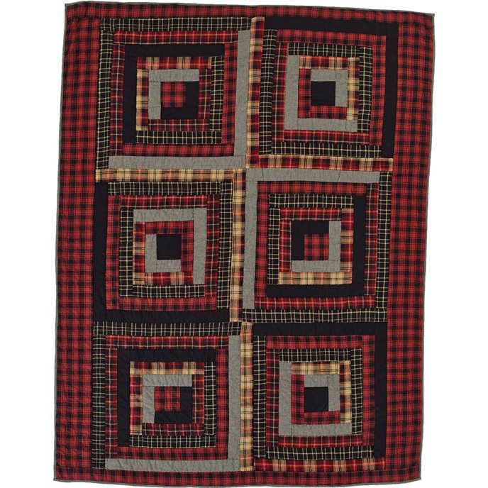 Cumberland Quilted Throw Thumbnail