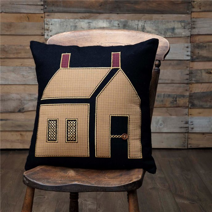 Primitive House Pillow Thumbnail