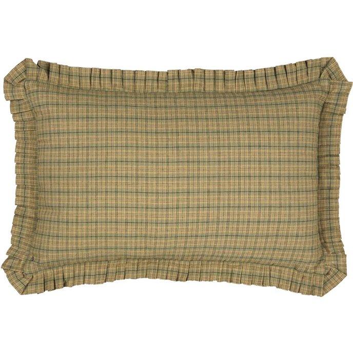 Tea Star Plaid Pillow Thumbnail