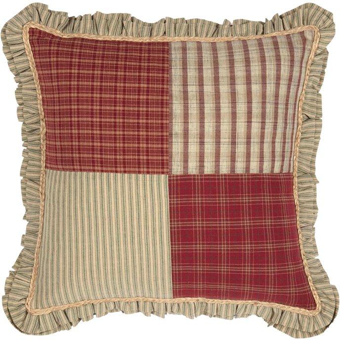 Prairie Winds Patchwork Pillow Thumbnail