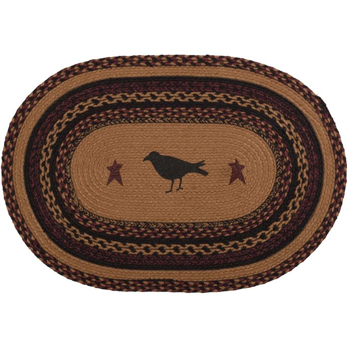 Heritage Farms Crow Jute Rug Oval (20x30) Thumbnail