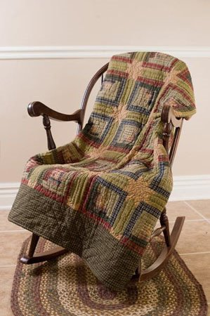 Tea Cabin Quilted Throw Thumbnail