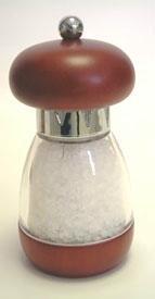 Mushroom Walnut Salt Mill (6 in.) Thumbnail