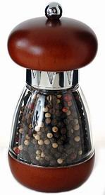 Mushroom Walnut Pepper Mill (6 in.) Thumbnail