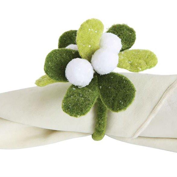 Mistletoe Napkin Ring Thumbnail