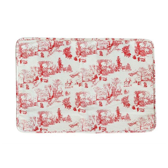 Red Toile Placemat Thumbnail