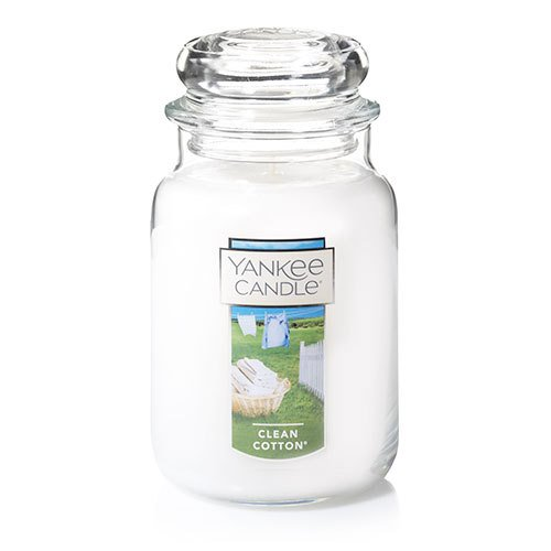 Yankee Candle Clean Cotton Large Jar Candle Thumbnail