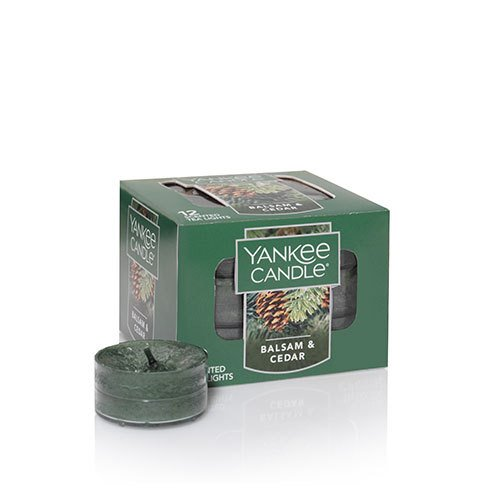 Yankee Candle Balsam & Cedar Tea Lights Thumbnail