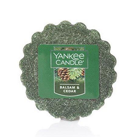 Yankee Candle Balsam & Cedar Tarts Wax Melt Thumbnail