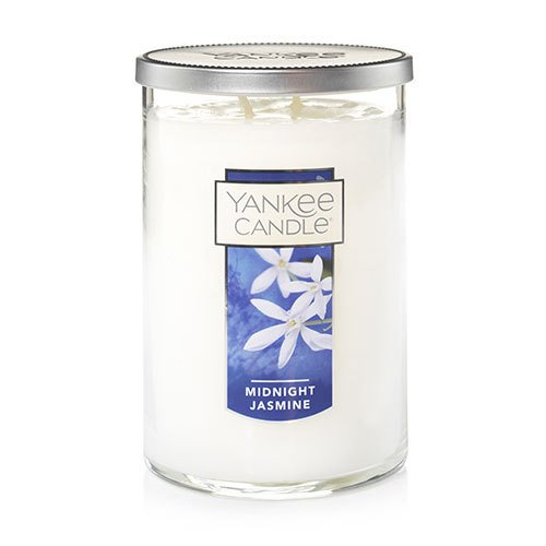 Yankee Candle Midnight Jasmine Large 2 Wick Cylinder Candle Thumbnail