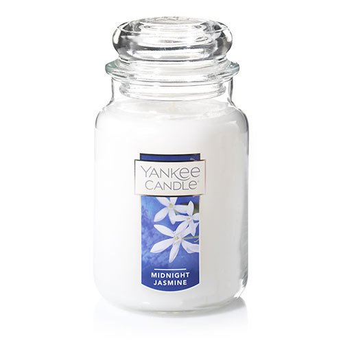 Yankee Candle Midnight Jasmine Large Jar Candle Thumbnail