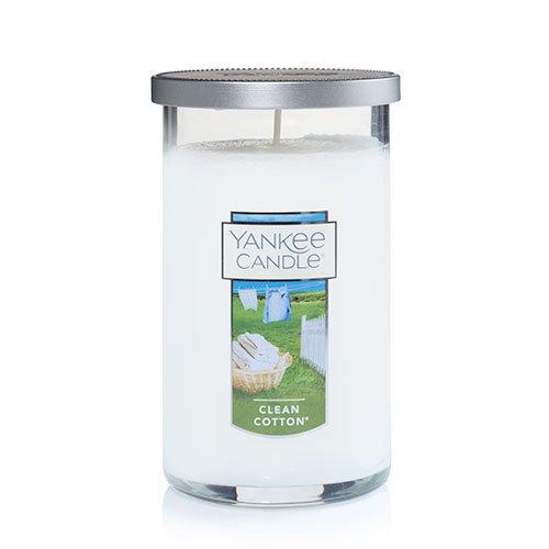 Yankee Candle Clean Cotton Medium Perfect Pillar Candle Thumbnail