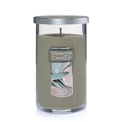 Yankee Candle Sage & Citrus Medium Perfect Pillar Candle Thumbnail