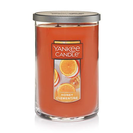 Yankee Candle Honey Clementine Large 2 Wick Tumbler Candle Thumbnail
