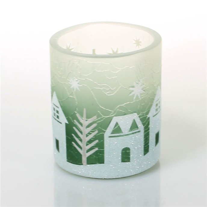 Yankee Candle Winter Village Votive Holder Thumbnail