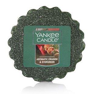 Yankee Candle Aromatic Orange & Evergreen Tarts Wax Potpourri Thumbnail